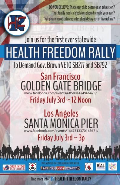 Golden Gate Health Freedom Rally