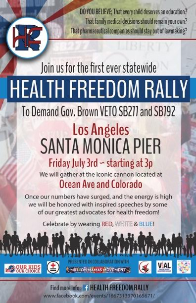 LA Health Freedom Rally